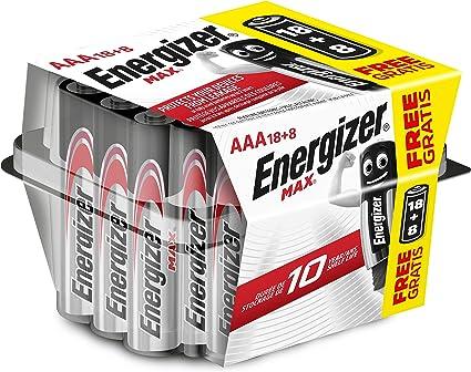 Energizer Alkaline Max Alkaline Max Aaa Batterien 18 Elektronik