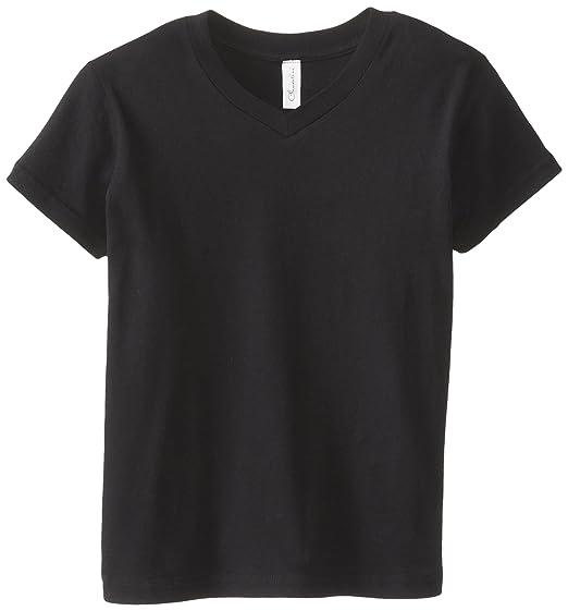 5cd6ac218557 Amazon.com: Clementine Apparel Girls Tween Short Sleeve V Neck T ...