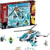 LEGO Ninjago ShuriCopter 70673 Kids Toy Helicopter Building Set with Ninja Minifigures and Toy Ninja Weapons, Model…