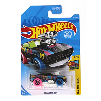 Hot Wheels '69 Camaro Z28 HW Art Cars 9/10: Toys & Games