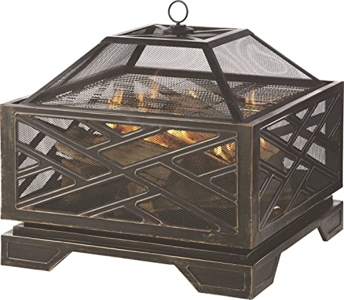 GHP Group OFW165S Pleasant Hearth Martin Fire Pit