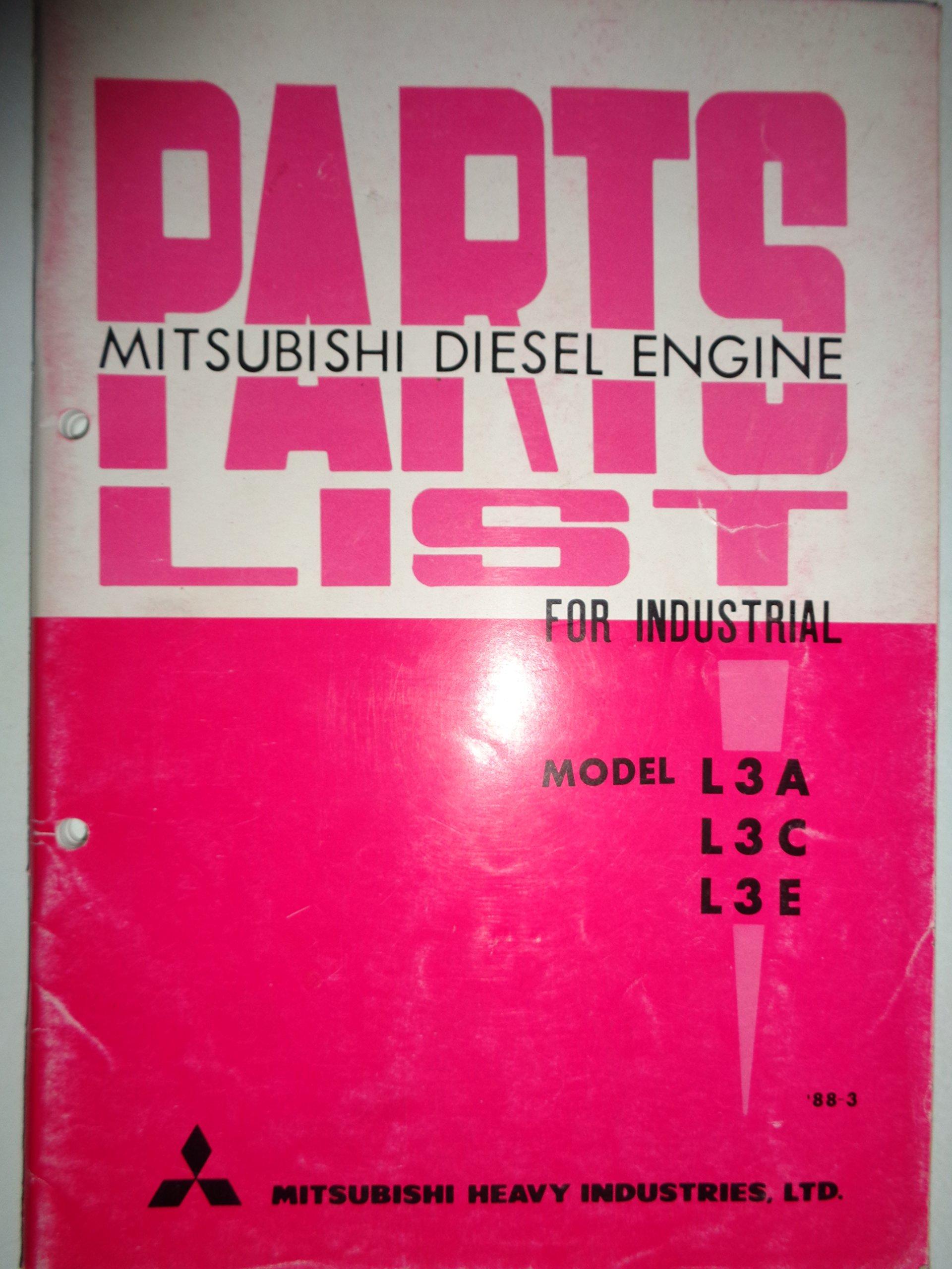 mitsubishi l3e engine parts breakdown