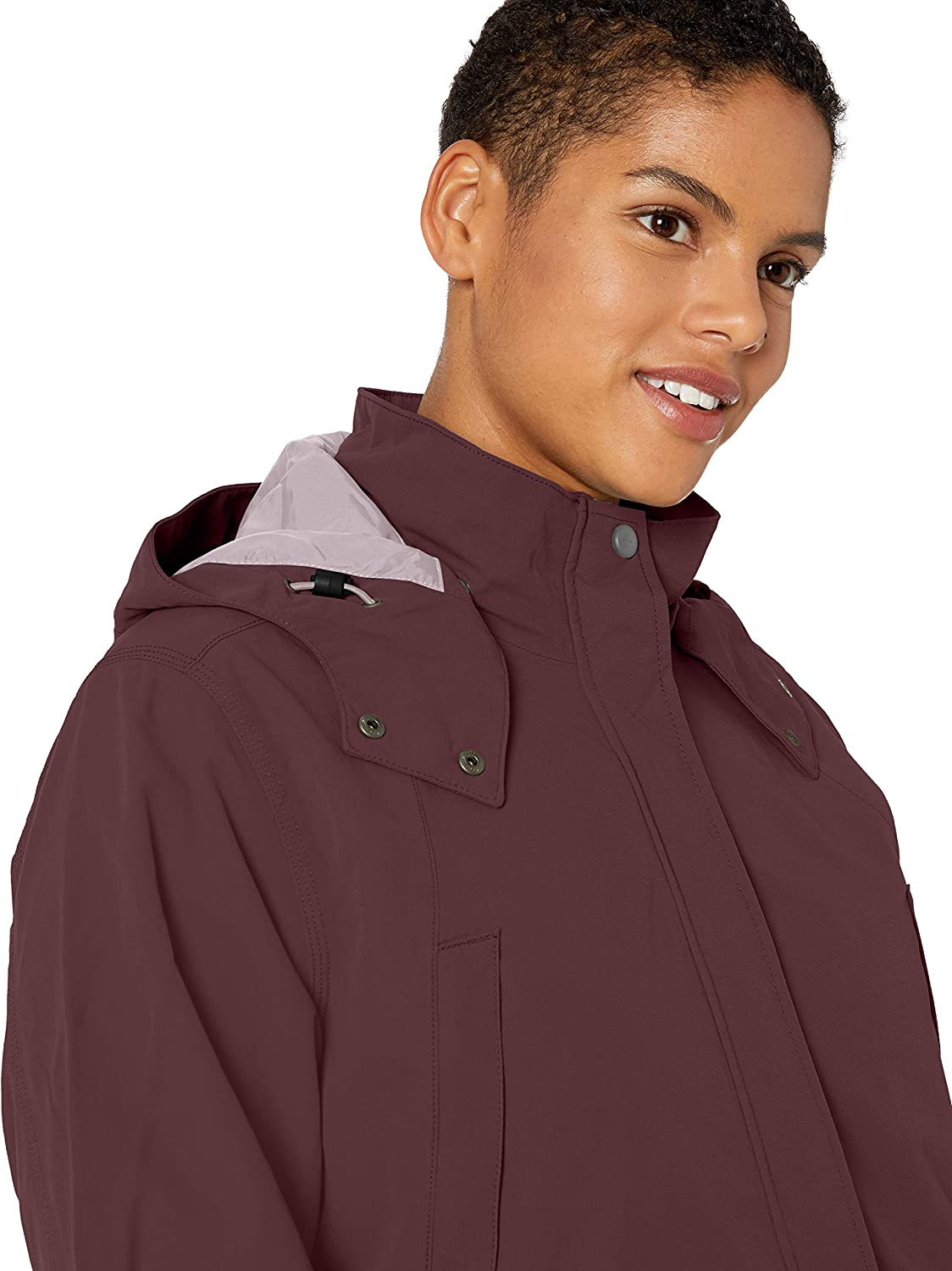 Deep Wine Carhartt Womens Shoreline Jacket 2X-Large Regular and Plus Sizes