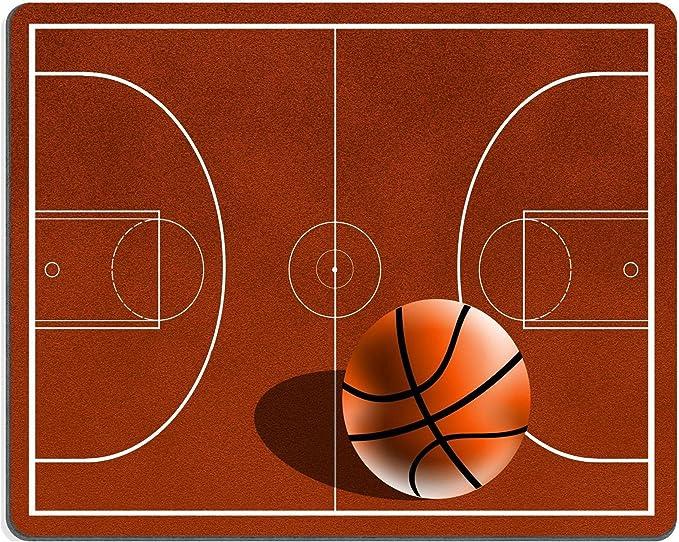 Luxlady alfombrilla para ratón cancha de baloncesto imagen ID ...