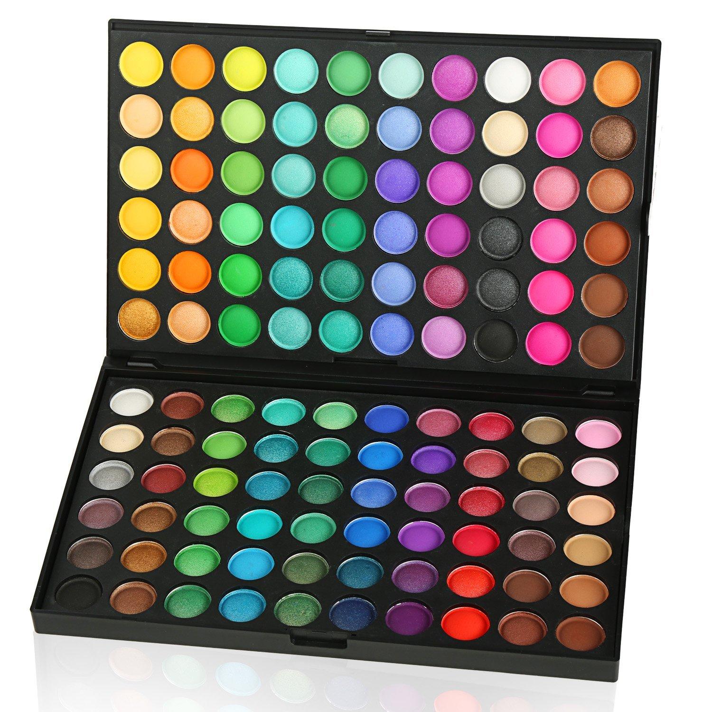 ACEVIVI Professional 120 Colors Women Cosmetics Set Primer Eyeshadow Concealer Makeup Palette Matte Shimmer