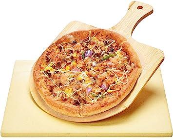 Piedra de Pizza y Espátula de Bamboo Harcas. Los mejores para ...