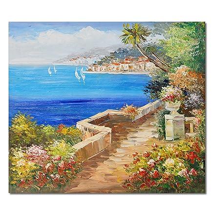 Raybre Art® 50 * 60 cm 100% Dipinti a mano Olio - Quadri su Tela ...