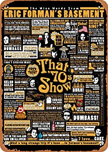 Unidwod That 70s Show Quotes That '70S Show 8 x 12 Inches - Vintage Metal Tin Sign for Home Bar Pub Garage Decor Gifts