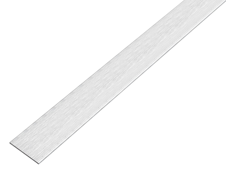 chromdesign Aluminium GAH-Alberts 488345 Flachstange selbstklebend 1000 x 25 x 2 mm