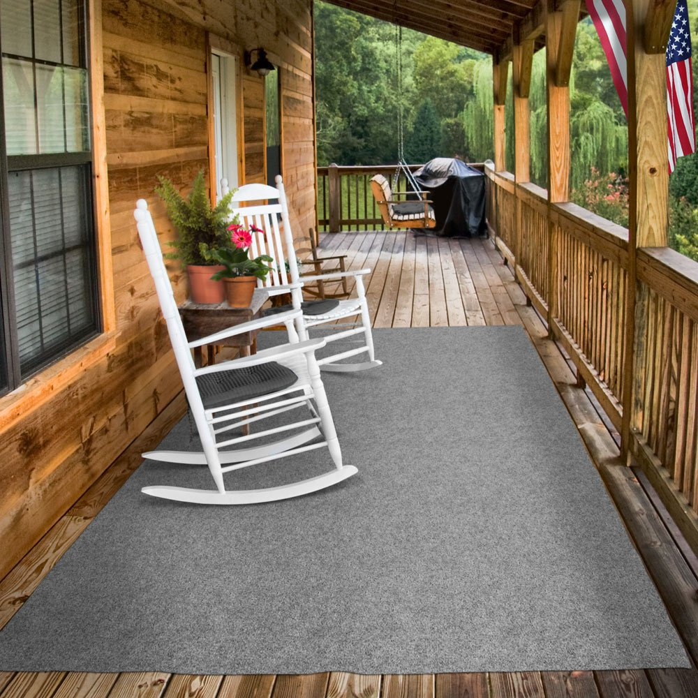 Amazon indooroutdoor carpet with rubber marine backing amazon indooroutdoor carpet with rubber marine backing gray 6 x 15 several sizes available carpet flooring for patio porch deck boat baanklon Image collections