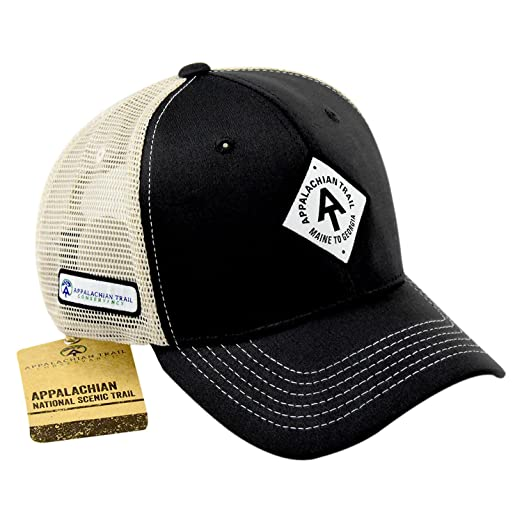 Top of the World Appalachian Trail Adjustable Two Tone Caps (Charcoal) 4d21996d15d5