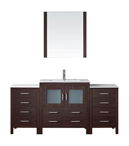 Virtu USA KS 70068 C ES Modern 68 Inch Single Sink Bathroom