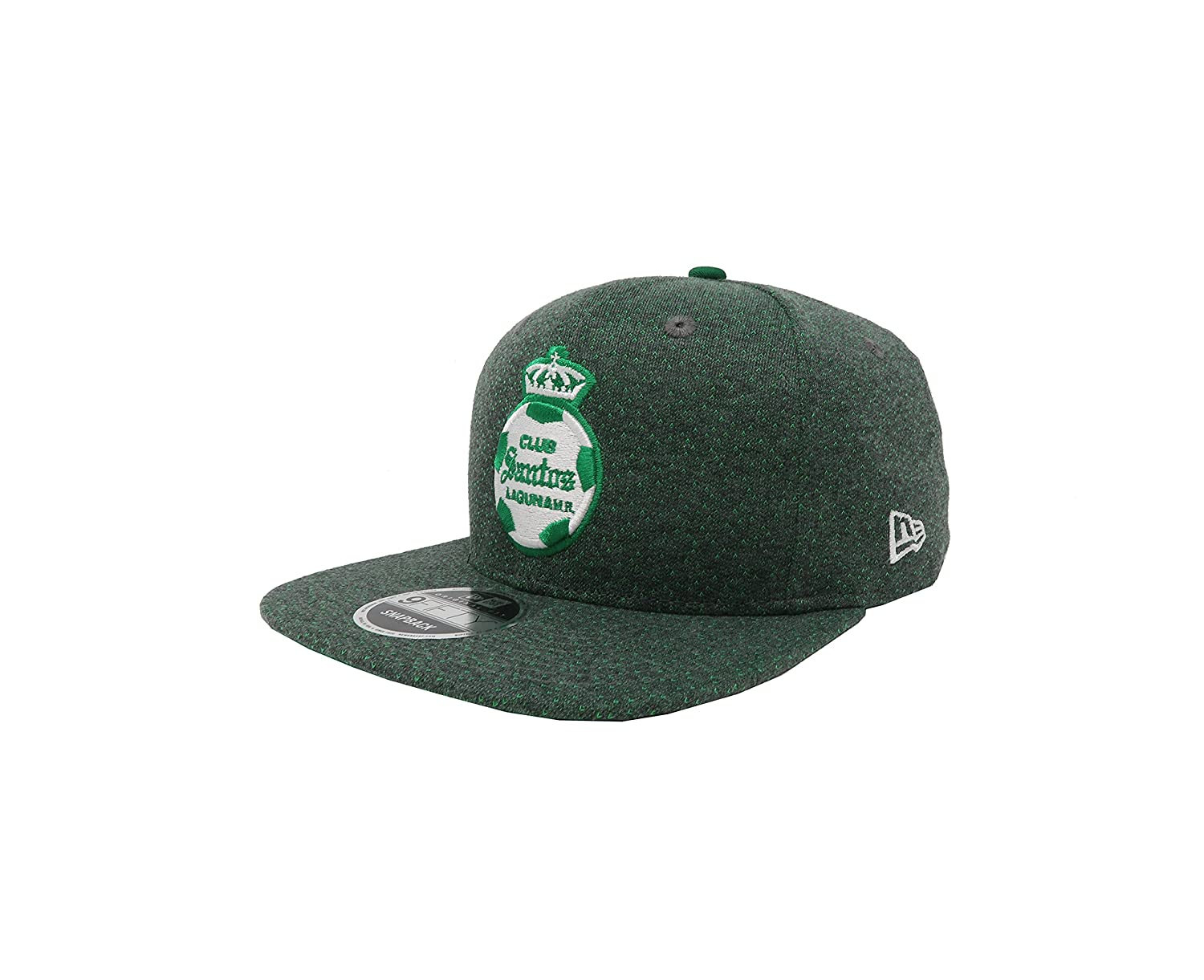 899640509a0b4 New Era 9Fifty Hat Santos Laguna Soccer Club Liga Mx Official Gray Snapback  Cap at Amazon Men s Clothing store