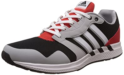 adidas Men's Equipment 16 M Cblack, Ftwwht and Clonix Running Shoes - 9 UK/