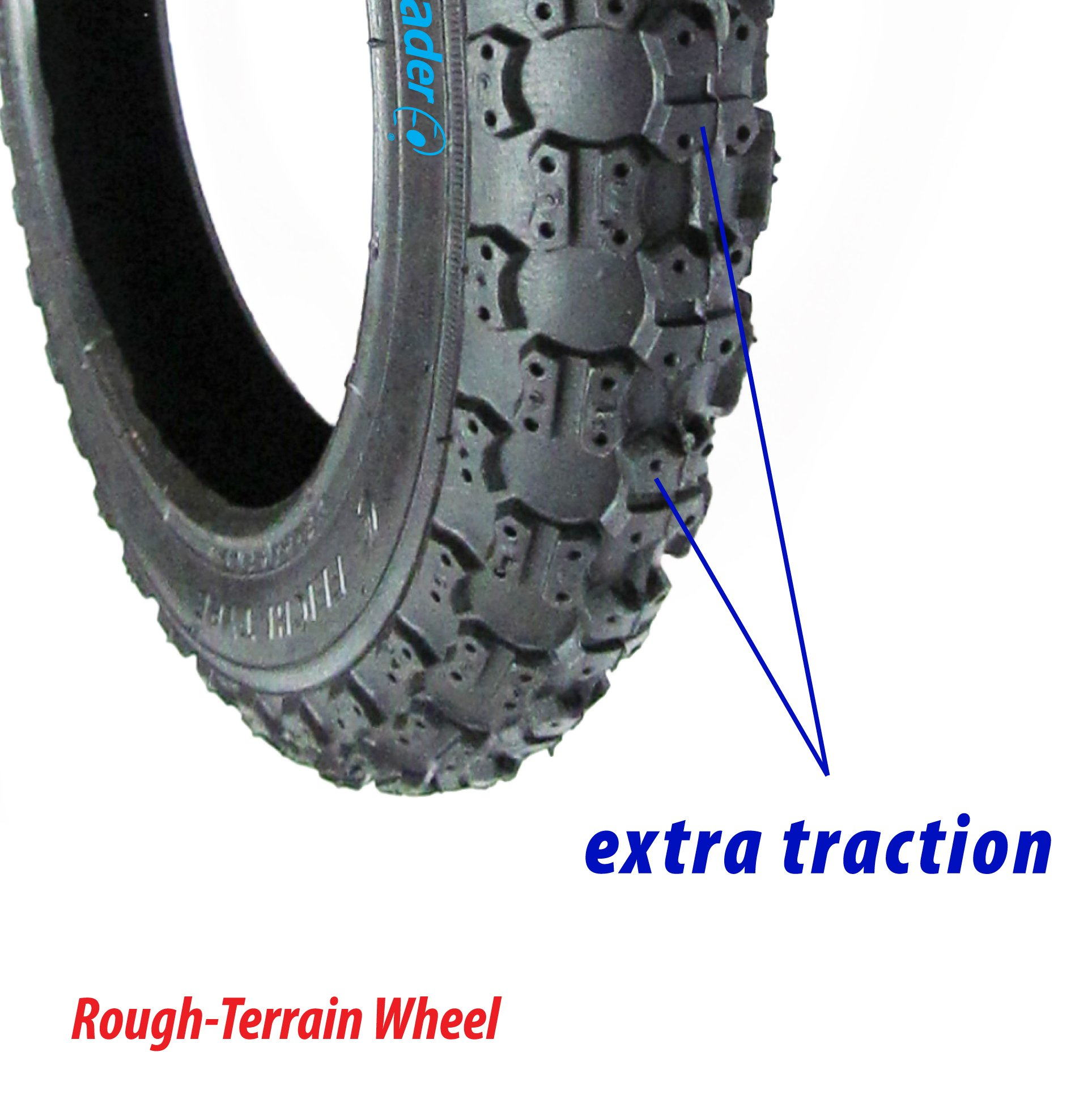 front tire & tube for Graco FastAction Jogger by Lineament (Image #6)