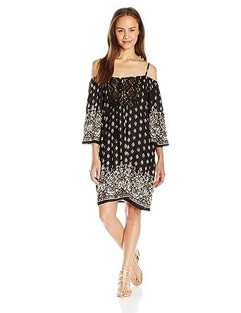 7dd6da98654c Angie Women s Cold Shoulder Dress at Amazon Women s Clothing store