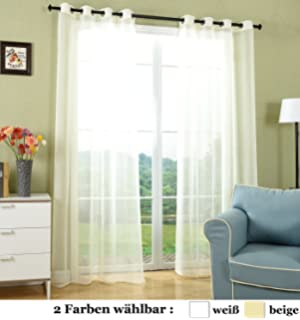 x visillo voile gasa lino con ojales translcido decoracin moderna para saln habitacin dormitorio hogar