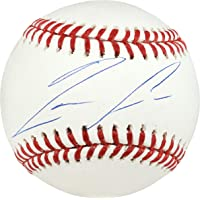 $159 » Ronald Acuna Jr. Autographed Official MLB Baseball Atlanta Braves Beckett BAS Stock…