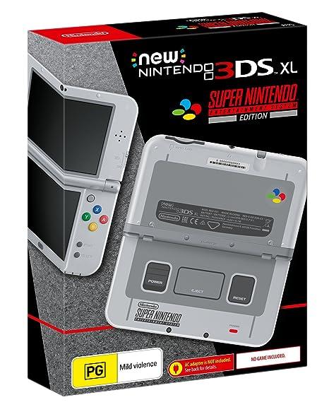 New Nintendo 3DS XL Console SNES Edition: Amazon com au: Video Games