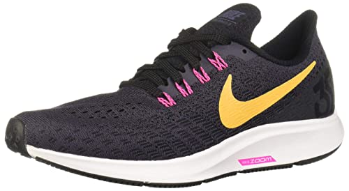 NIKE Women s Air Zoom Pegasus 35 Gridiron Laser Orange Black Running Shoe 8 Women US