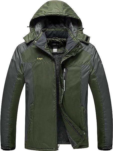 Mens Ski Jacket Winter Coats Insulated Waterproof Extreme Warm Chaqueta de Hombre