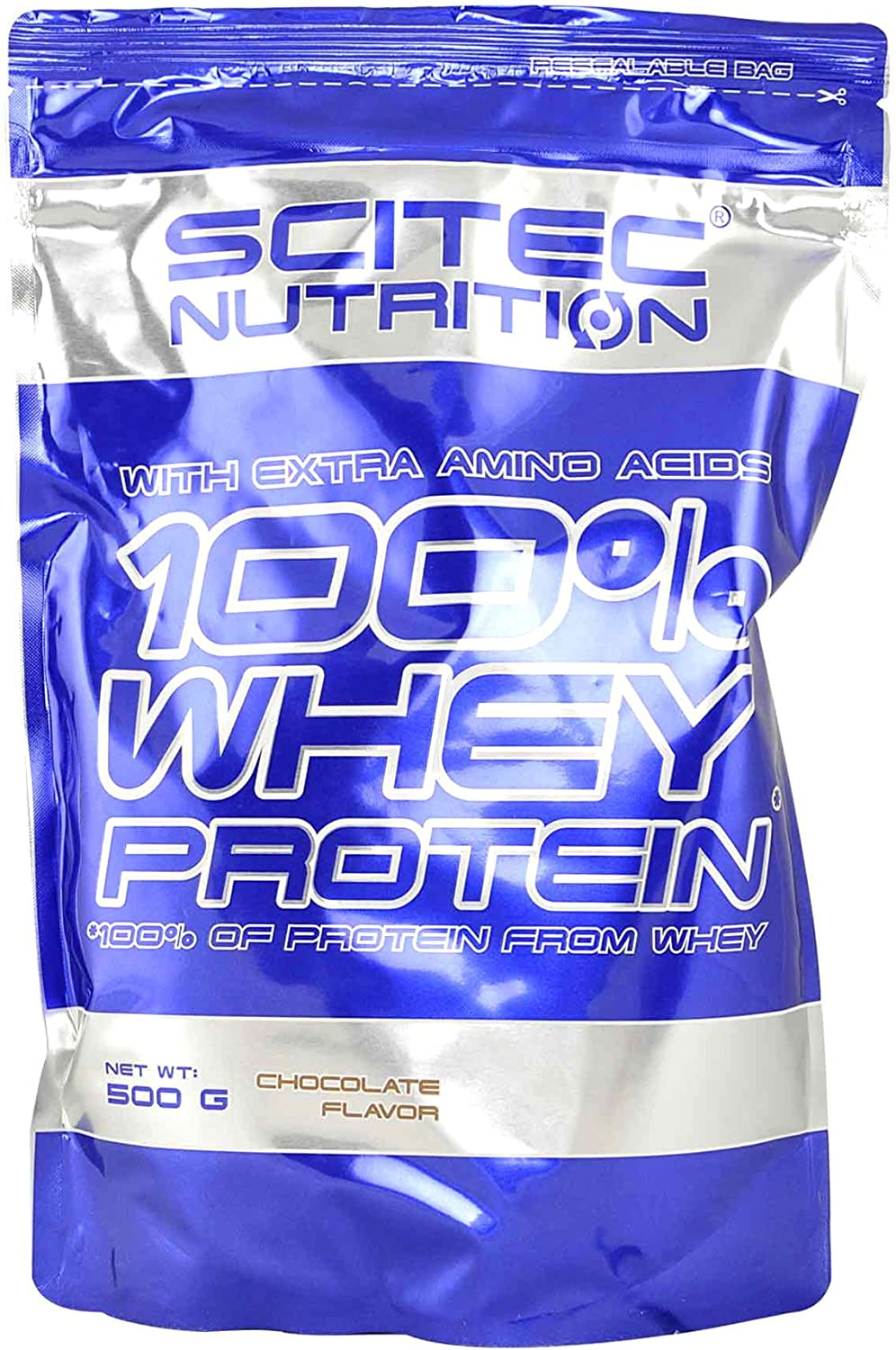 Scitec Nutrition Whey Protein Proteína Chocolate - 500 g