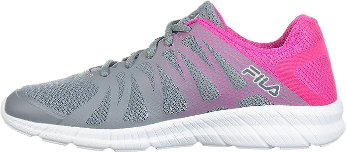 Fila Memory Finition Mujer US 9 Gris Zapatillas: Amazon.es: Zapatos y complementos
