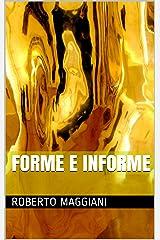 Forme e informe (Poesia Vol. 2) (Italian Edition) Kindle Edition