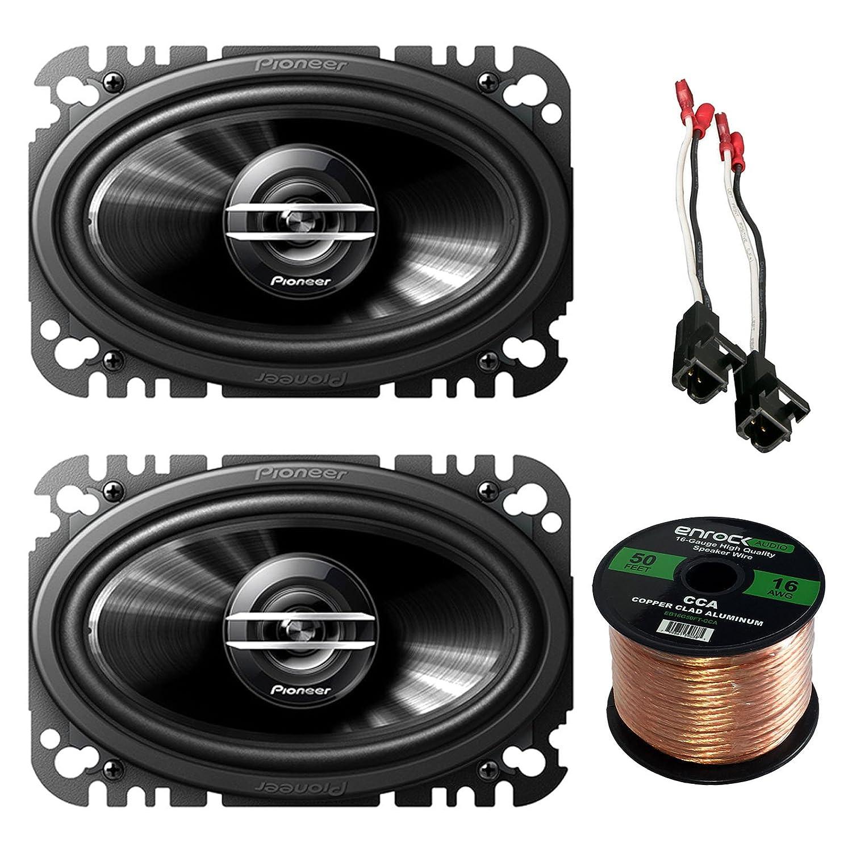 Subwoofer Speaker Wire Gauge For What Car Wiring Harness Pioneer Way Speakers Pair Metra Select Vehicles Enrock Audio Foot