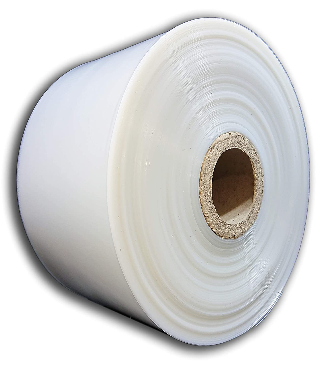 1 Roll Of 18 Wide Clear Polythene Layflat Tubing 336 Metres Per Roll Strong 250 Gauge Transparent Plastic Lay Flat For Packing Packaging Storage Bags