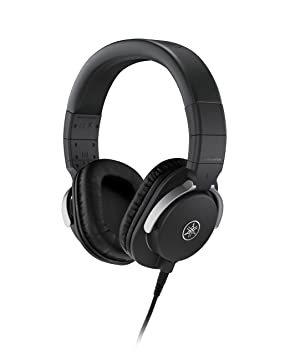 YAMAHA Studio Monitor Headphones HPH-MT8 (Black) On-Ear Headphones at amazon