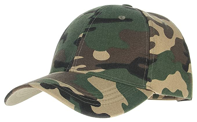 Amazon.com: ylovego Camouflage Woodland Pattern for Men Bone Baseball Cap Dad Hat Sunhats Casquette Gorras Hombre Summer Style Army Green: Clothing
