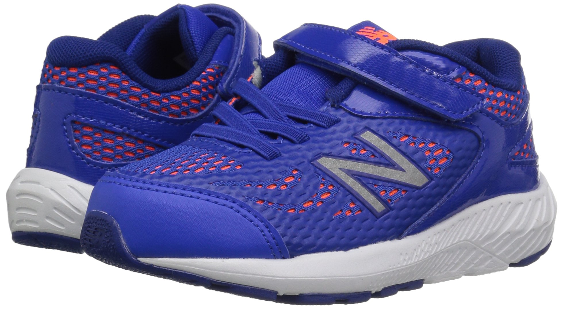 New Balance Boys' 519v1 Hook and Loop Running Shoe Pacific/Dynomite 2 M US Infant by New Balance (Image #6)