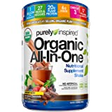 Purely Inspired All-in-One Nutritional Supplement Shake Powder, Vegan, 20g Protein with Fiber, Vitamins, Minerals…
