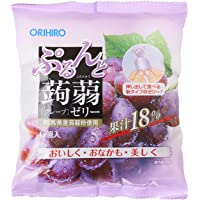 Orihiro Purun To Konnyaku Jelly Grape, Grape, 120 g
