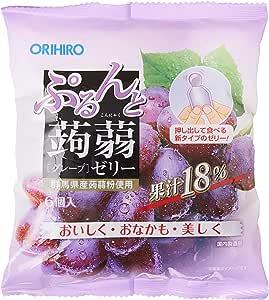 Orihiro Purun To Konnyaku Jelly Grape, Grape, 120 g