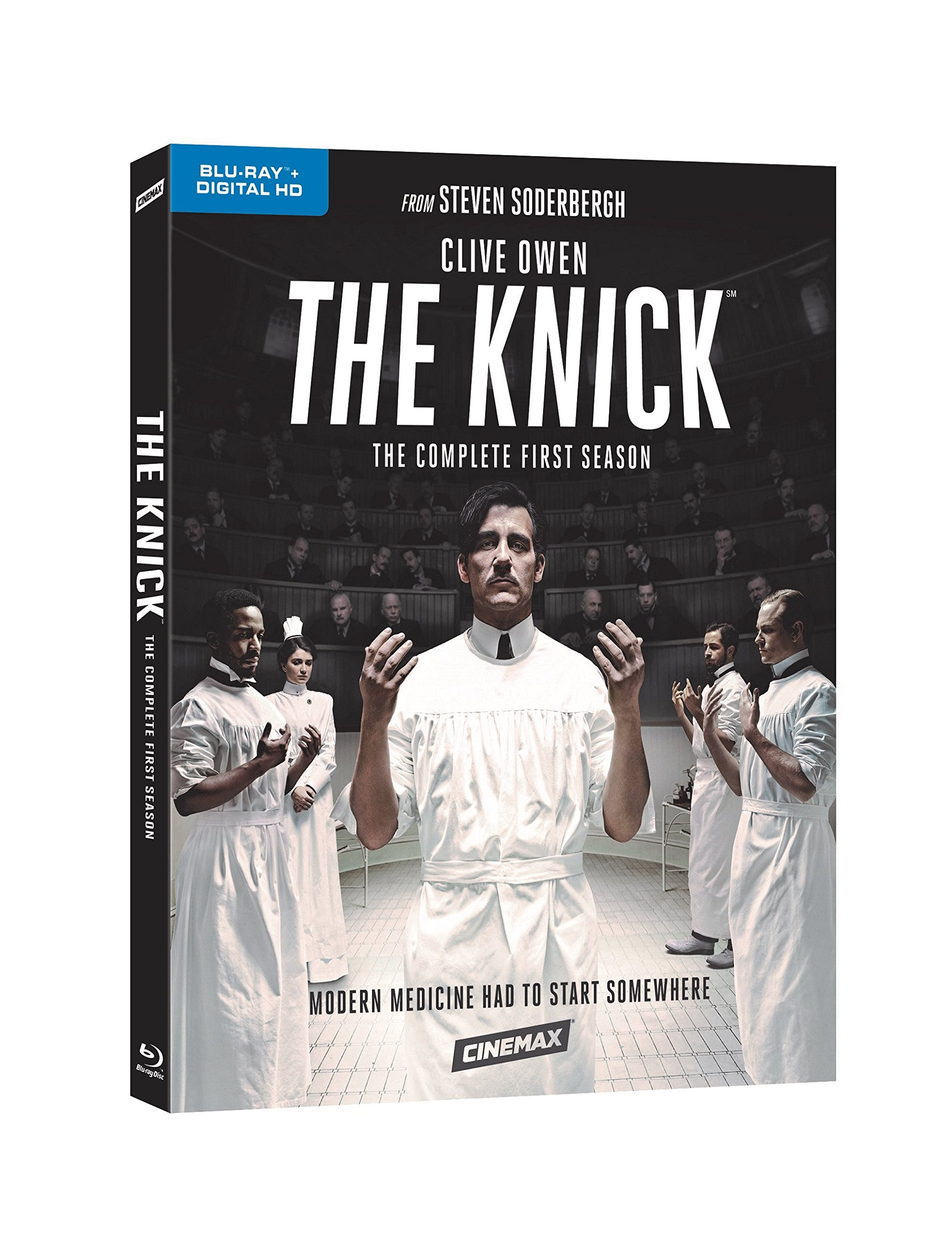 Blu-ray : The Knick: The Complete First Season (Boxed Set, Full Frame, , Digital Copy, 4 Disc)