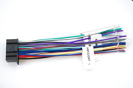 [DIAGRAM_34OR]  Amazon.com: Wire Harness for Kenwood 22 PinLabeled KW-NT800HDT, KVT-696, KVT -614,KVT-516, KVT-514, KVT-512, KMR-700U: MP3 Players & Accessories | Kvt 514 Kenwood Wiring Harness |  | Amazon.com
