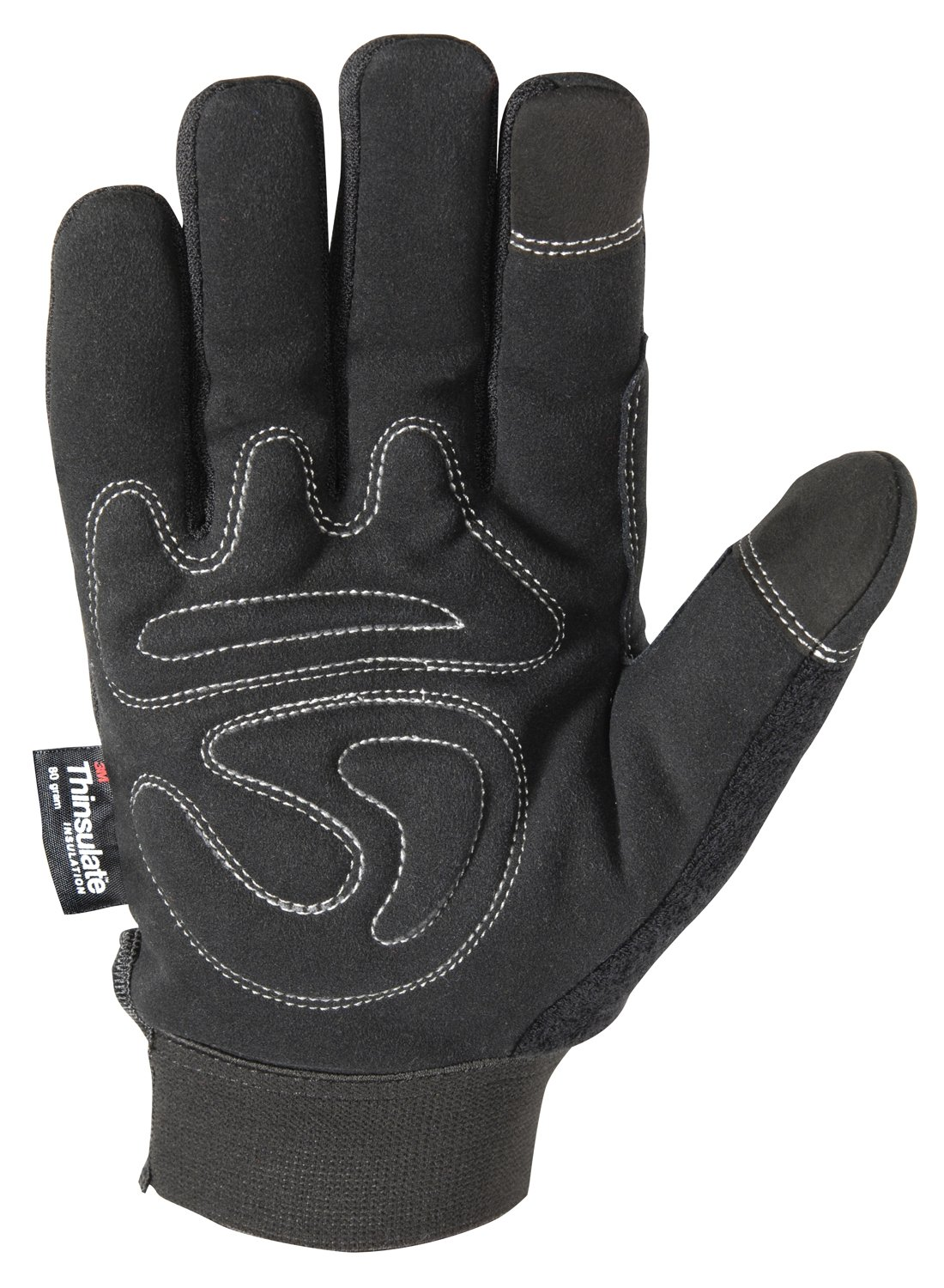 Leather gloves mens amazon - Wells Lamont Black Winter Gloves With Touch Screen Capability 80 Gram Thinsulate Insulation Large 7760l Amazon Com