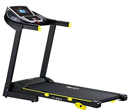 Buy Reach T 301 Incline Motorized Foldable Treadmill With Extra