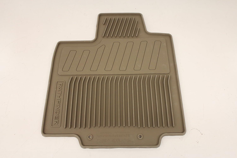 Rubber floor mats nissan pathfinder 2013 - Amazon Com Genuine Nissan Accessories Custom Fit All Season Floor Mat Charcoal Automotive