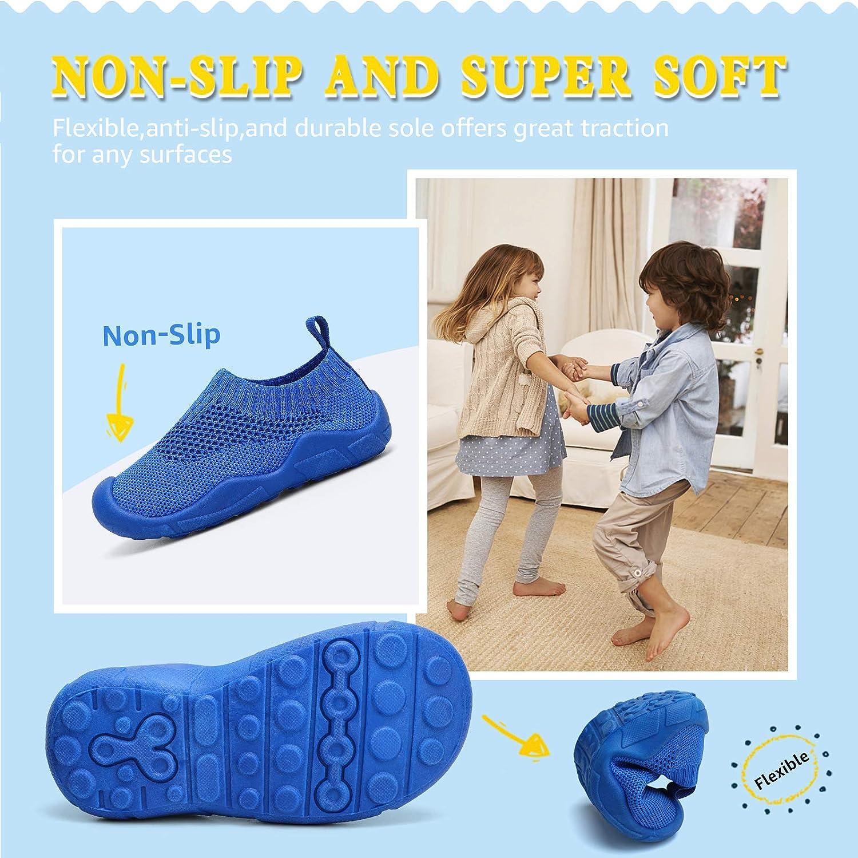 STQ Hausschuhe Kinder Pantoffeln M/ädchen Jungen rutschfeste Leichte Kleinkinder Babys Slippers