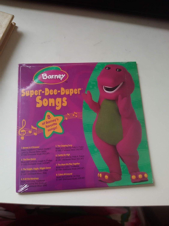 Barney - Super-Dee-Duper Songs - Amazon com Music