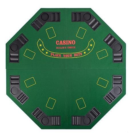 Amazoncom 48 4 Fold Folding Pro Style 8 Players Octagon Poker
