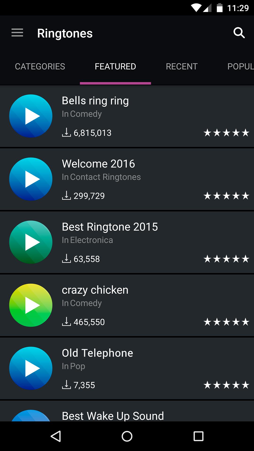 zedge how to download ringtones