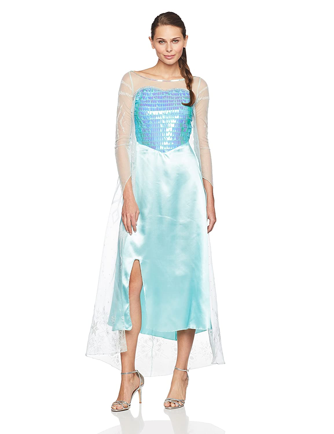 Disney Frozen Queen Elsa Adult Gown Traje | M: Amazon.es ...