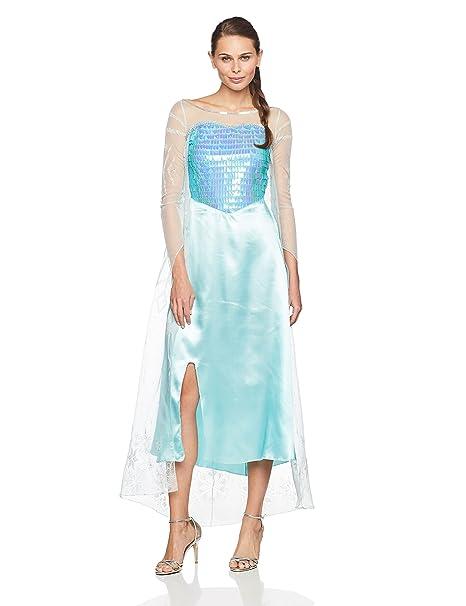 amazon com disney disguise women s frozen elsa deluxe costume clothing