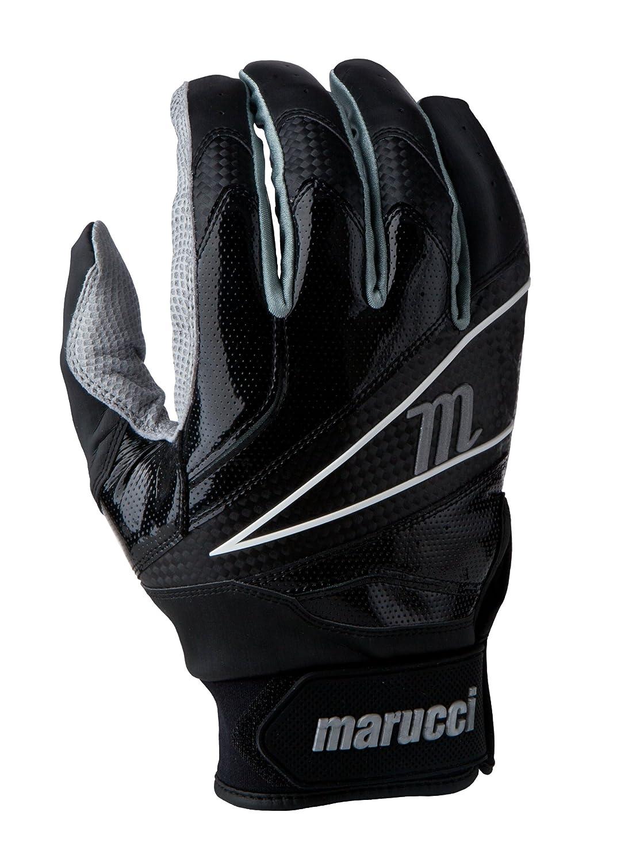 Marucci 2014 ELITE Batting Gloves B00EGH5QL6 3L|ブラック ブラック 3L