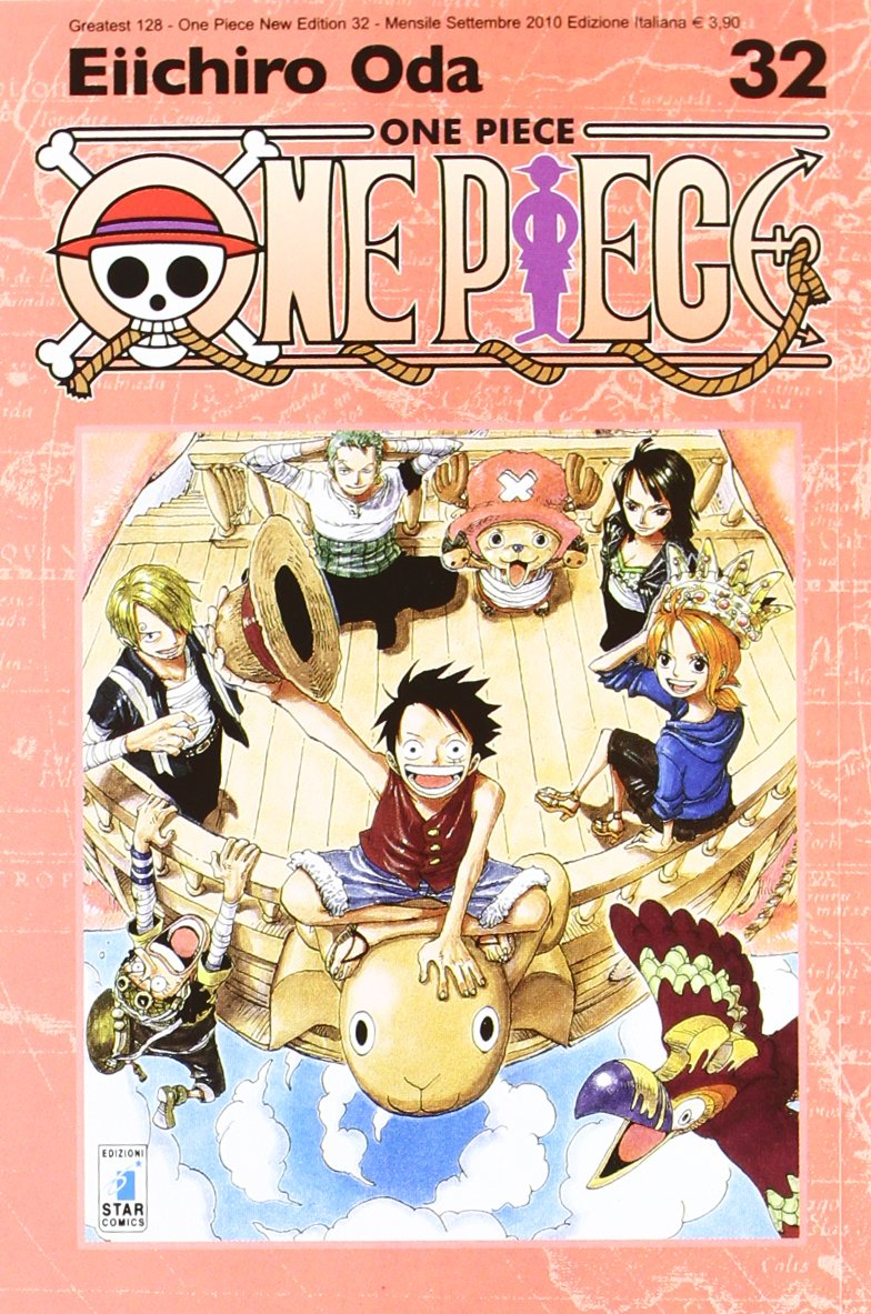 One piece. New edition: 32 Copertina flessibile – 16 set 2010 Eiichiro Oda E. Martini Star Comics 8864202188