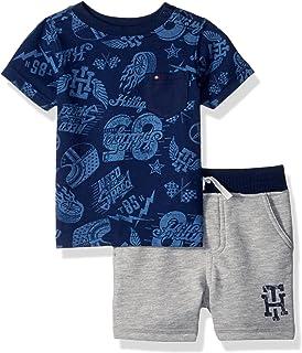 b007d35d1 Amazon.com  Nautica Boys  2 Piece Bodysuit Short Set  Clothing